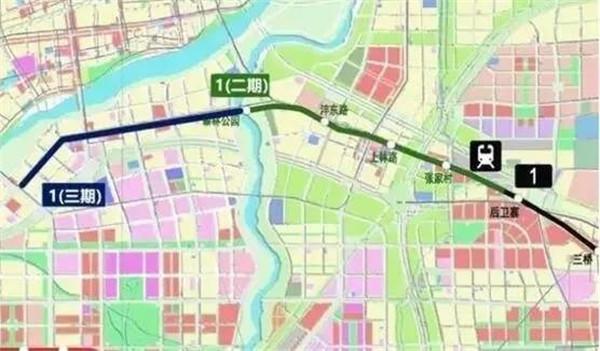 带您看最新最全西安18条地铁路线图|看看哪条线过你家